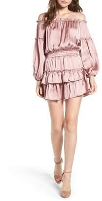 MISA LOS ANGELES Romi Off the Shoulder Dress
