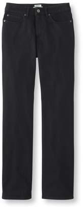 L.L. Bean L.L.Bean Comfort Knit Jeans, Classic Fit Straight-Leg