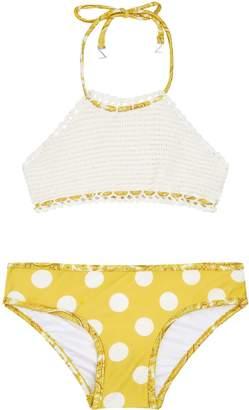 Zimmermann Crochet Halter Bikini