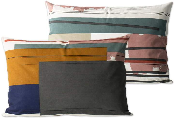 ferm living - Colour Block Kissen large, 2