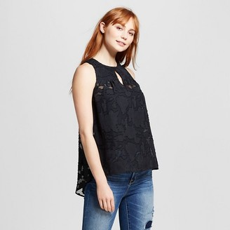 Mossimo Women's Floral Lace Pattern Tank Top - Mossimo $19.99 thestylecure.com