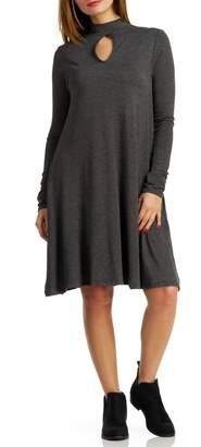 Elan International Keyhole Pocket Dress