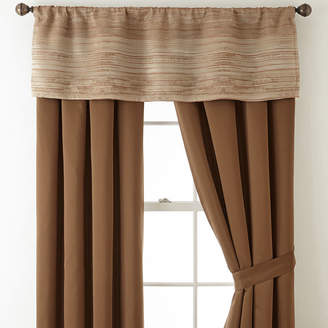 STUDIO BY JCP HOME StudioTM Rhythm 2-Pack Rod-Pocket/Back-Tab Lined Curtain Panels