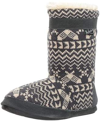 Woolrich Women's Whitecap Knit Boot Slipper