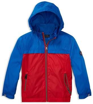 Polo Ralph Lauren Boys' Packable Windbreaker Jacket - Little Kid