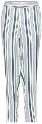 Tory Burch Villa striped trousers