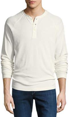 Peter Millar Dunes Ribbed Henley T-Shirt