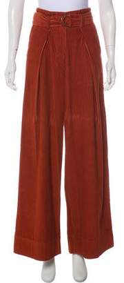 Ulla Johnson High-Rise Flared Pants