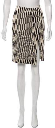 Gianfranco Ferre Textured Knee-Length Skirt