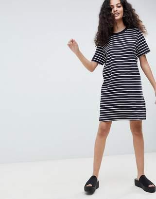 Only Jersey Stripe T-Shirt Dress