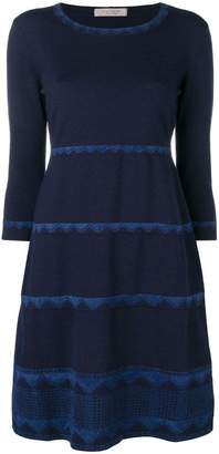 D-Exterior D.Exterior lace trim dress