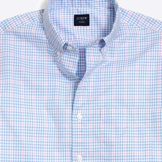 J.Crew Factory Slim short-sleeve flex washed shirt