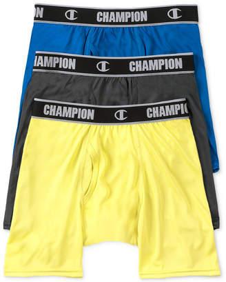 Champion Men's 3-Pk. Active Performance Boxer Briefs