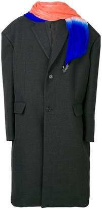 Raf Simons oversized coat