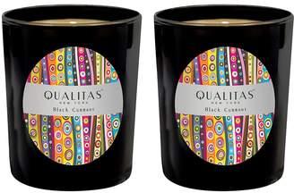Qualitas Candles Black Currant Candles (6.5 OZ) (Set of 2)