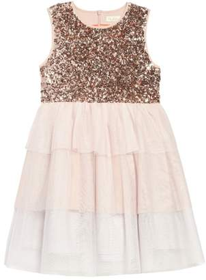 Boden Mini Sequin Tiered Tutu Dress