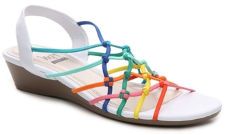 Impo Rhyme Wedge Sandal $52 thestylecure.com