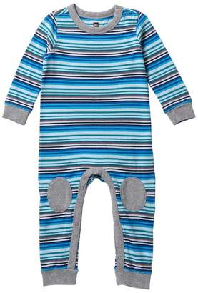 Tea Collection Fraser Knee Patch Romper (Baby Boys)