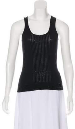TSE Embroidered Sleeveless Top