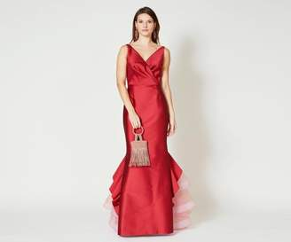 Sachin + Babi Chesterton Gown - Cherry Red
