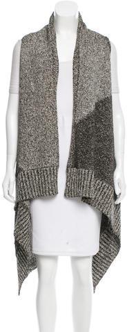 Alice + OliviaAlice + Olivia Rib Knit Open Front Vest w/ Tags