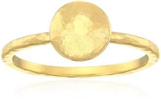 "Gurhan Lentil"" 24k Ring"