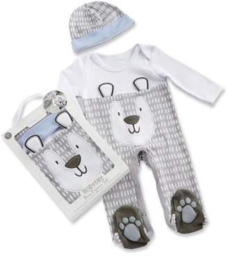 Baby Aspen Baby Boy Trendy Baby Bear 2-Piece Pajama Gift Set