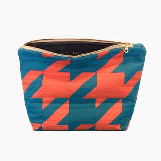 Lucy Engels Rita - Quilted Makeup Bag - Red Blue