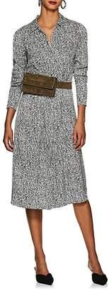 LES COYOTES DE PARIS Women's Linde Abstract-Print Shirtdress