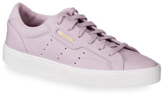 683d29e2f adidas Sleek Leather Lace-Up Sneakers