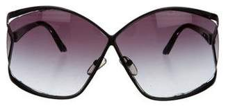 Christian Dior Oversize Gradient Sunglasses