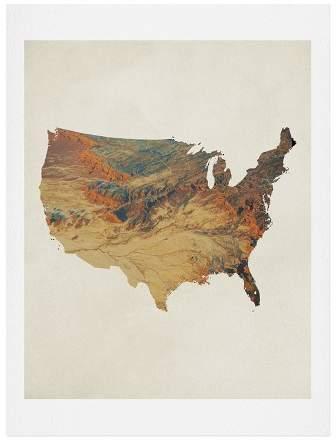 Chelsea Victoria Wild Wild West States Art Print 18