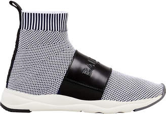 Balmain Cameron Black Sock Sneakers