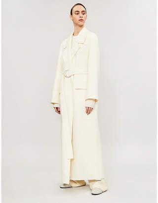 The Row Newen wool-blend coat
