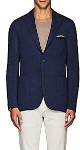 "Boglioli Men's ""K Jacket"" Wool Two-Button Sportcoat-Blue"