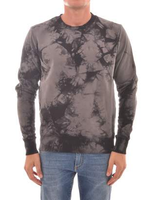 Helmut Lang Sweatshirt In Grey Tie-dye