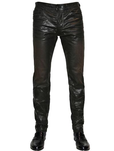 Diesel Black Gold 16,8 Cm Superbia Np Resin Coated Jeans
