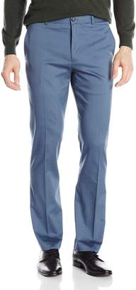 Perry Ellis Slim Fit Flat Front Twill Pant