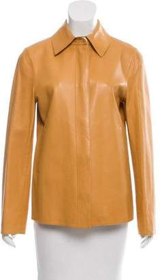 Loro Piana Lightweight Leather Jacket