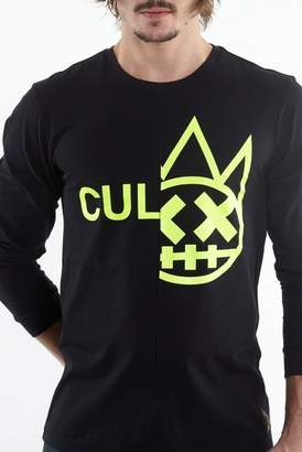 Cult of Individuality Long Sleeve Crew Neck Split Tee