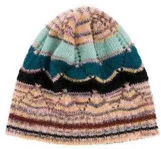 Missoni Wool-Blend Patterned Beanie