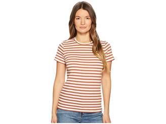 Vince Bengal Stripe Essential Crew Women's T Shirt