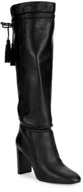 Kate Spade Hazel Self-Tie Tall Leather Boots
