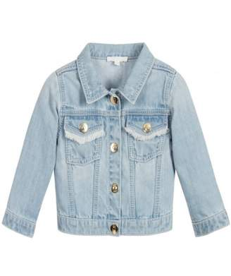 Chloé Childrenswear Soft Denim Jacket