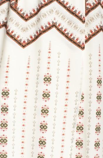 Women's Fraiche By J Print Faux Wrap Dress 2