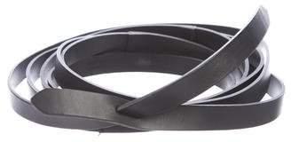 Isabel Marant Leather Wrap-Around Belt