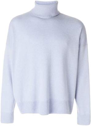 Ami Alexandre Mattiussi Turtle Neck Oversize Fit Sweater