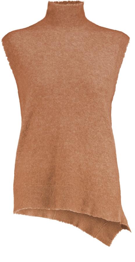 3.1 Phillip Lim3.1 Phillip Lim Asymmetric stretch-knit turtleneck top
