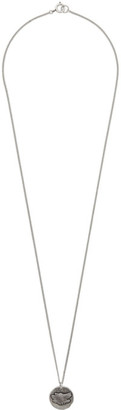 Isabel Marant Silver Wolfy Necklace