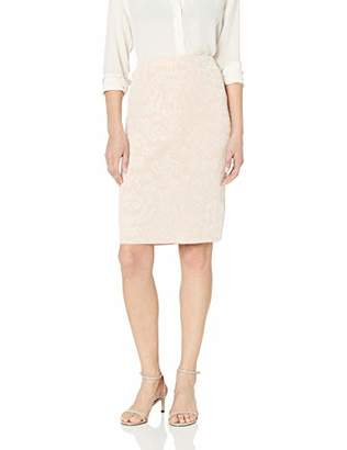 Calvin Klein Women's Floral Jacquard Sweater Skirt